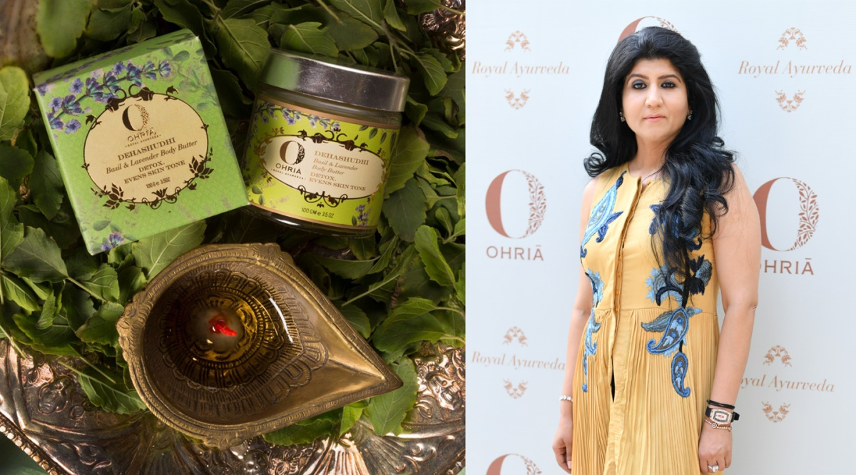 This Beauty Entrepreneur's Products Are Dipped in Ancient Indian Spirituality