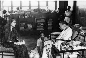 Indira Gandhi's second visit to meet the Mother