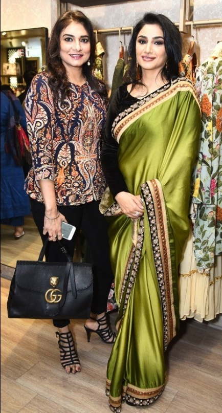 L-R: Charu Parashar and Charu Singh