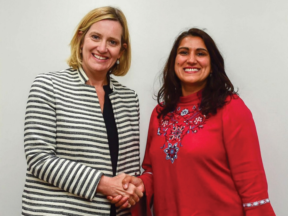 Home-Secretary-Amber-Rudd-and-Jasvinder-Sanghera-CBE,-Aug-30,-2017