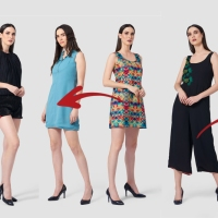 This Designer Makes Reversible Outfits With Two Totally Different Looks!