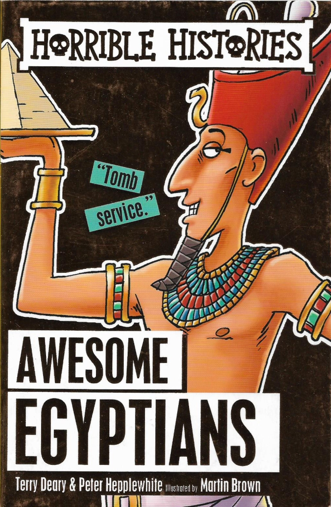 books awesome egyptians