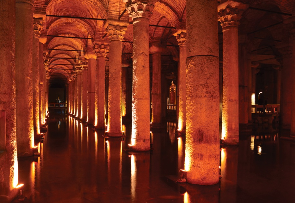 Istanbul-cistern