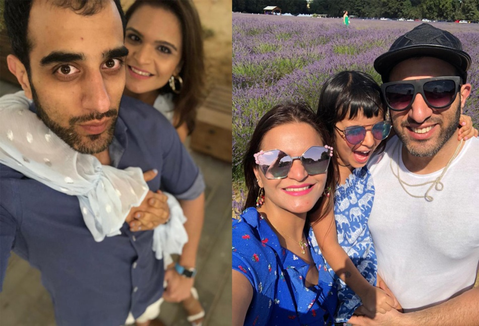 Nidhi-Chopra-brother-and-family