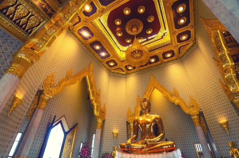 travel - thailand golden buddha