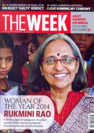 Rukmini Rao The Week cover