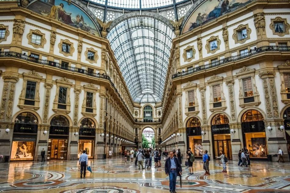 Travel - Milan galleria