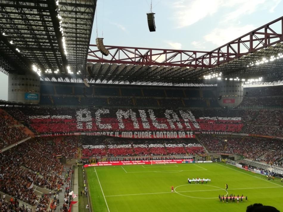 Travel - Milan stadium