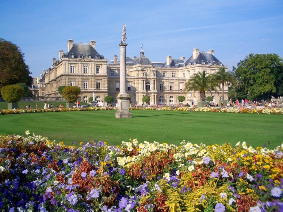 Travel - Paris jardin-du-luxembourg