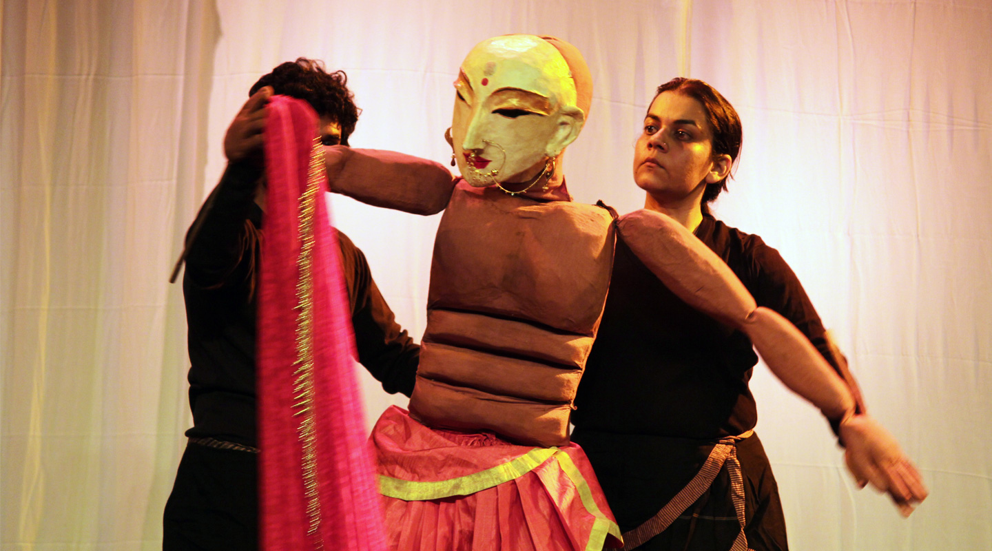 Her Puppets Raise Tough Questions on Contemporary Issues, from War to Sexuality