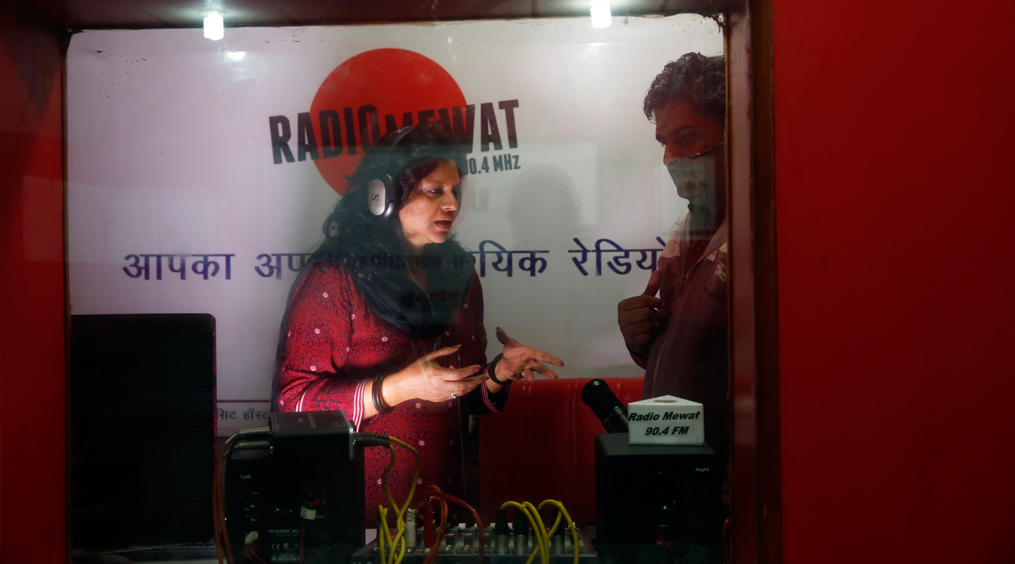How Archana Kapoor's Community Radio Station Changed People's Lives in Mewat