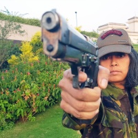 You Don't Mess With This Woman: Commando Trainer Seema Rao