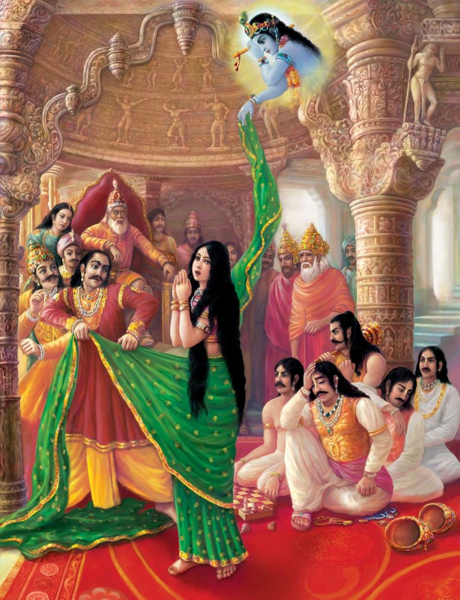 Cheerharan-Draupadi
