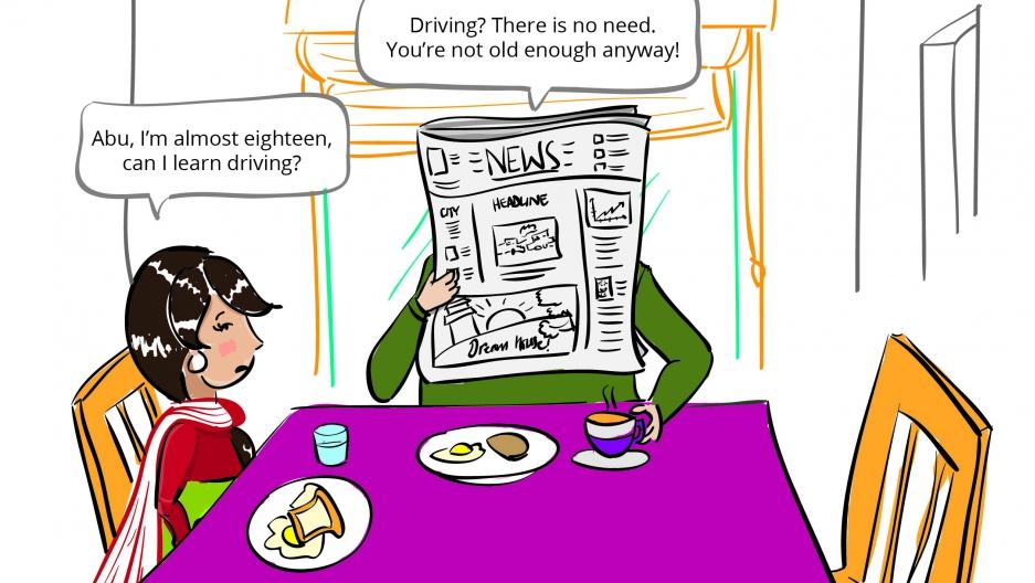 Graphic Ayesha Tariq illustration