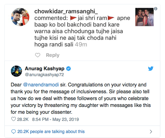 Rape-threat-to-Anurag-Kashyap's-daughter