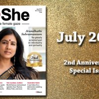 Read the July 2019 Anniversary Issue of eShe Magazine