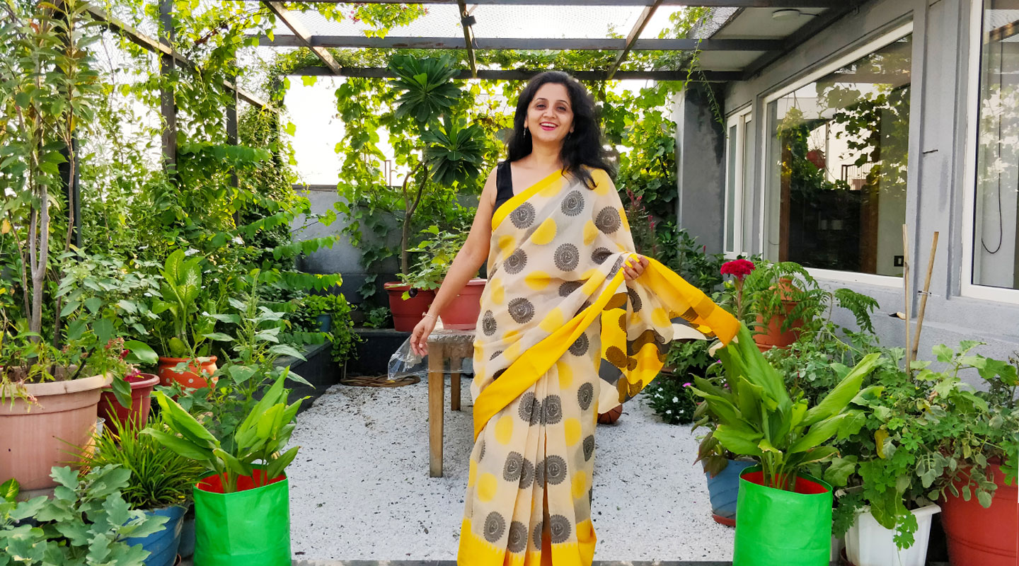 How a Delhi Woman Turned Her Rooftop Garden into 'Her Piece of Sky'