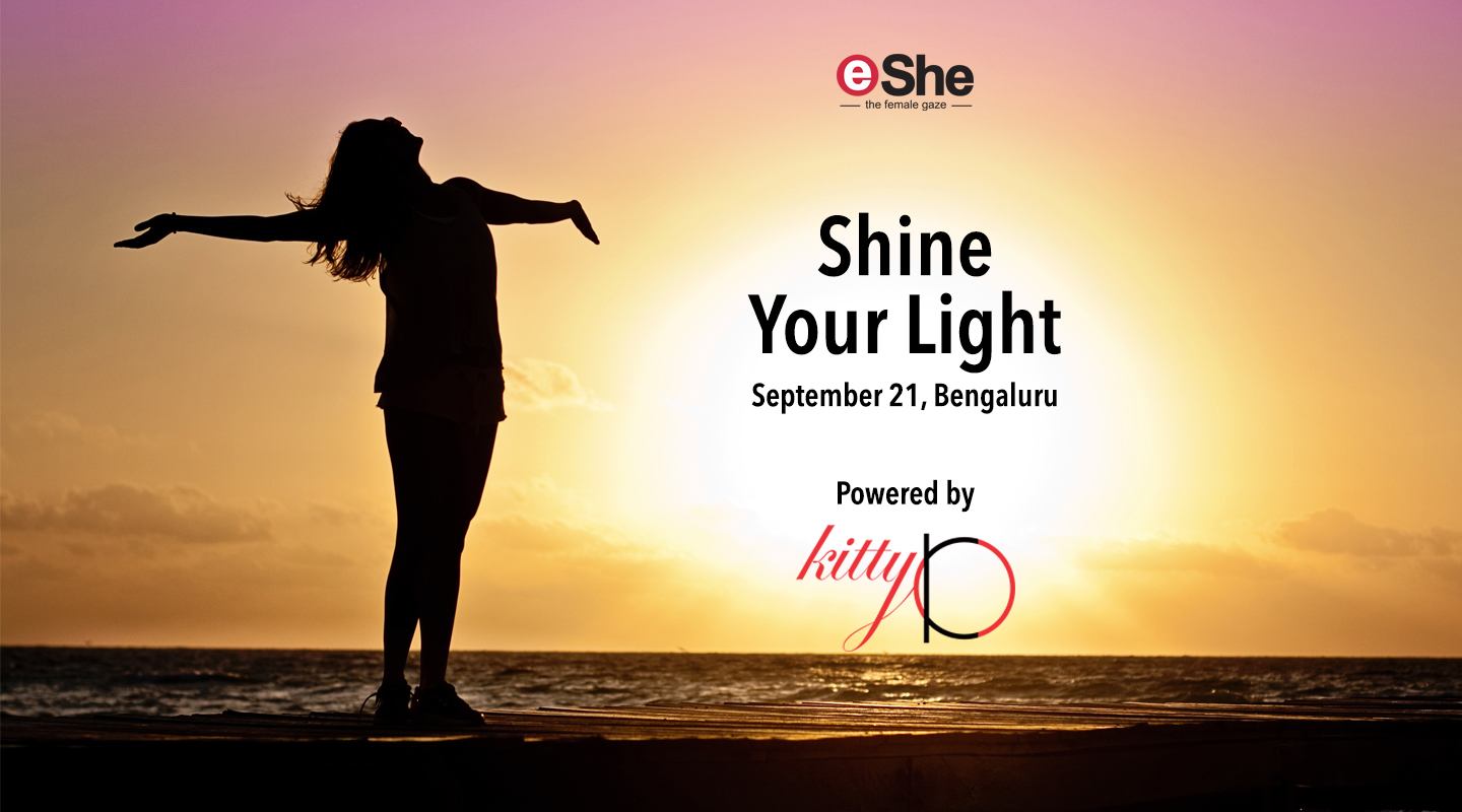 eShe's Shine Your Light at Kitty Ko, Bengaluru on September 21st!