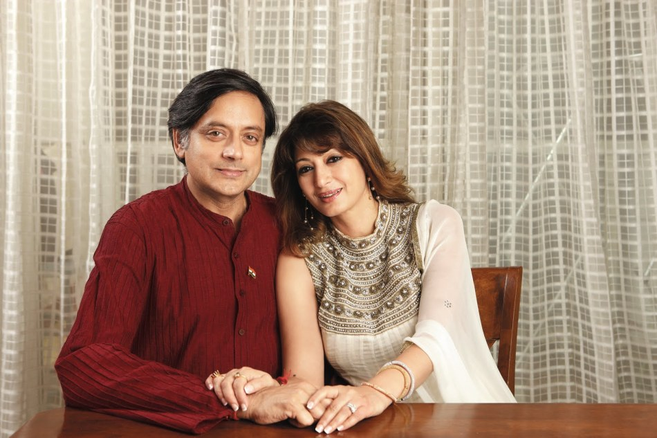 Sunanda and Shashi Tharoor.jpg