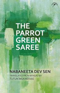 Books Parrot Green Saree