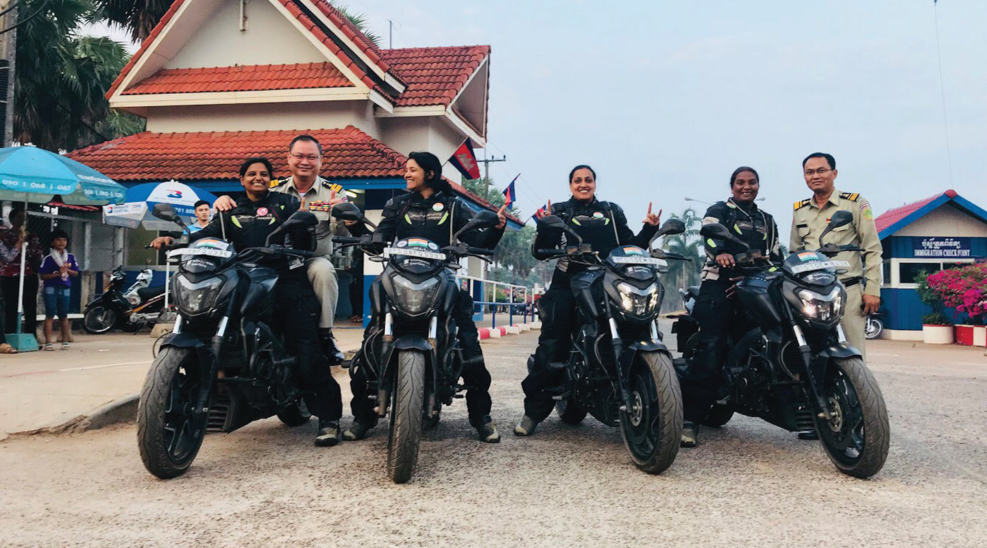 Why 4 Intrepid Women Set Off on a Daring Ride Across 6 Countries