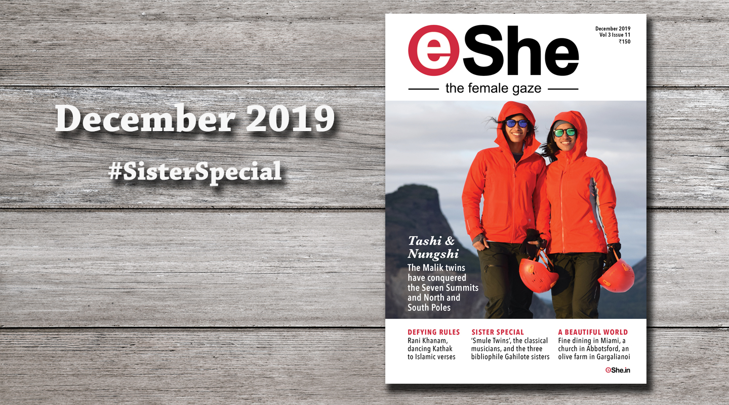 Read the December 2019 Issue of eShe Magazine