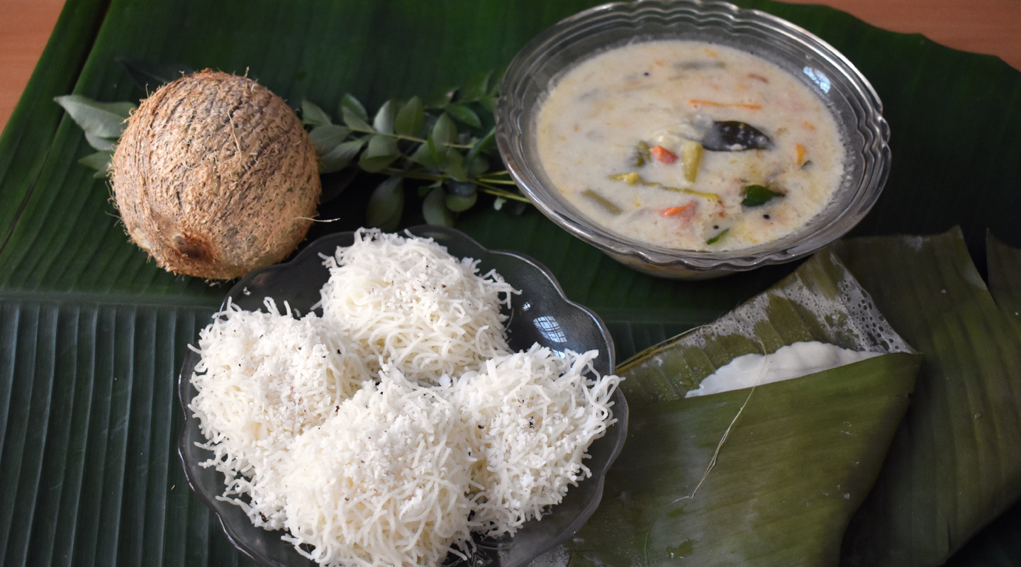 3 Traditional Vegetarian Breakfast Recipes from Kerala