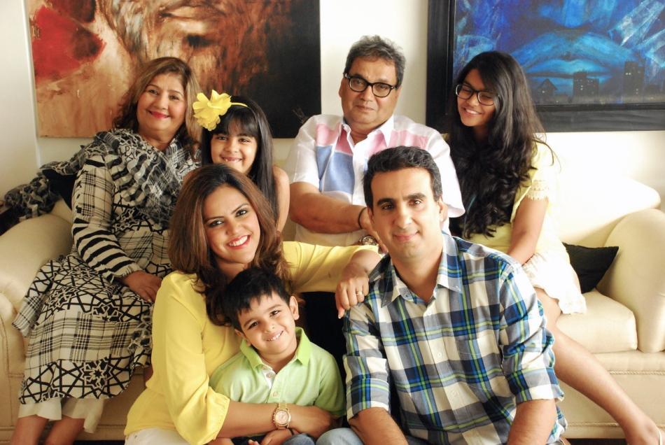 Meghna Ghai Puri - Family (4)