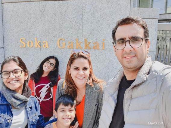 Meghna Ghai Puri - Family