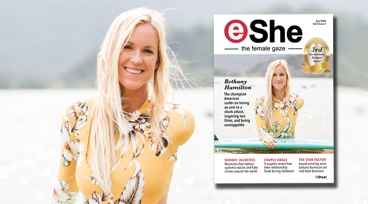Read the July 2020 Anniversary Issue of eShe Magazine