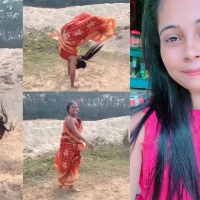 Meet Mili Sarkar, the Bengali Teen in the Viral 'Sari-Backflip' Video