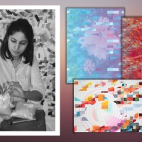 The Fiction of Colour: Review of Tanya Goel's 'Pause in a Flicker' Art Exhibition at Nature Morte
