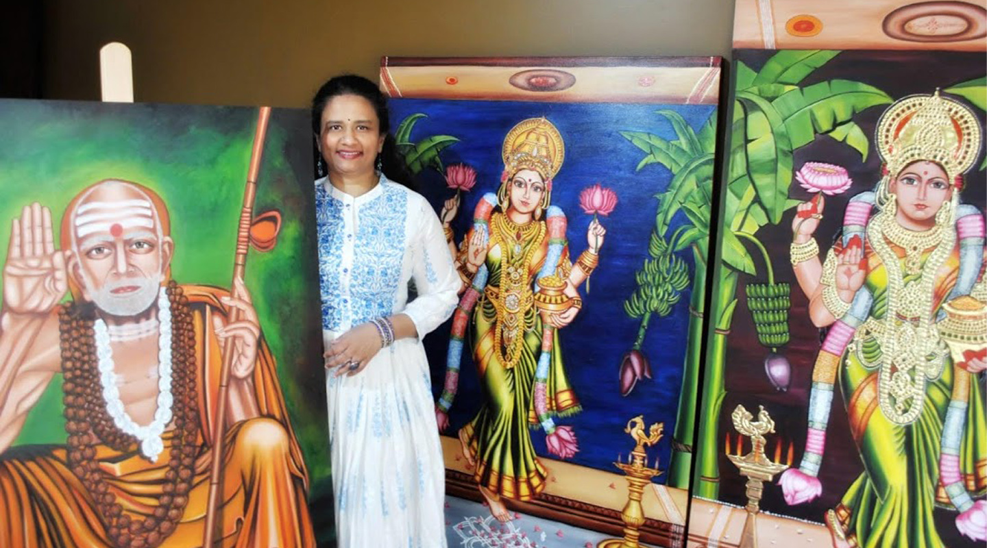 This Indian Artist Has Taken Dravidian Art to Australian Shores