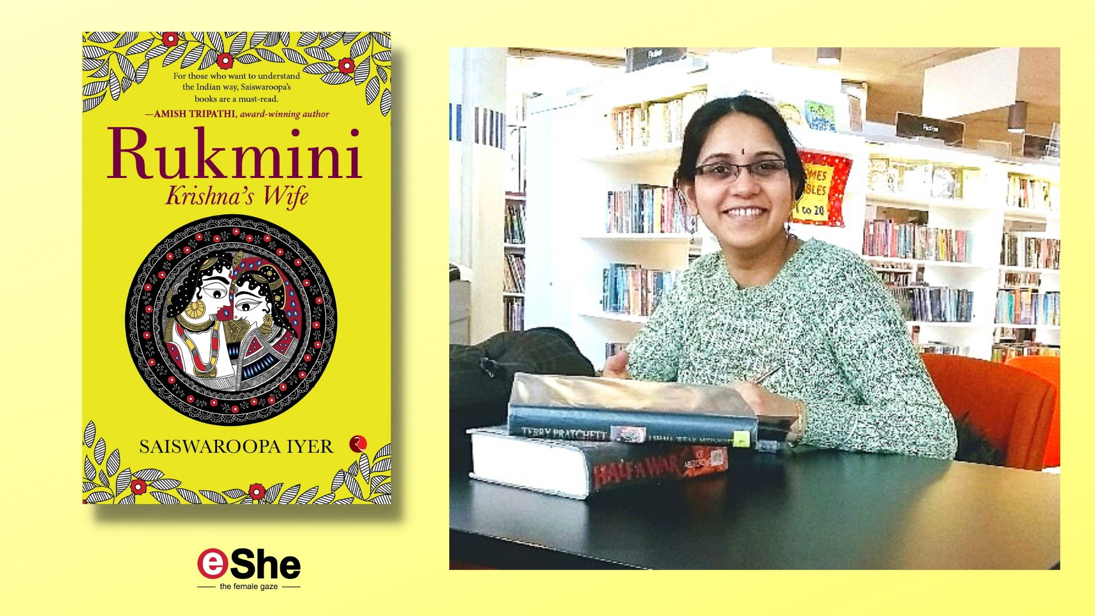 A God's Feisty Bride Who Held the Fort: New Novel on Rukmini Revisits a Historical Heroine