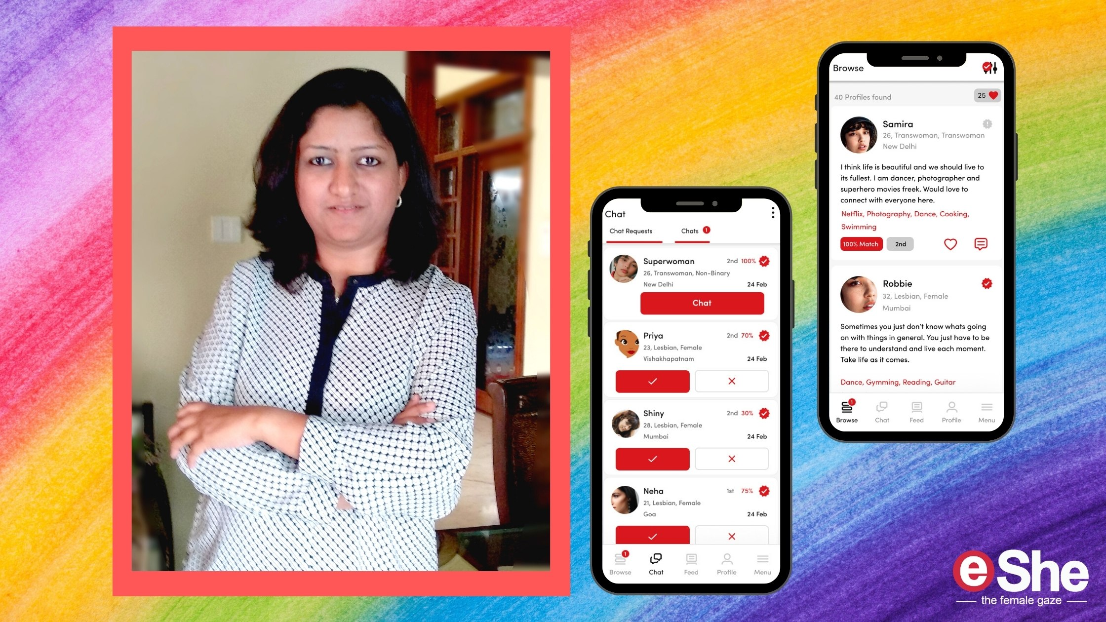 She Founded India's Only Homegrown Matchmaking App for the LGBTQ+ Community