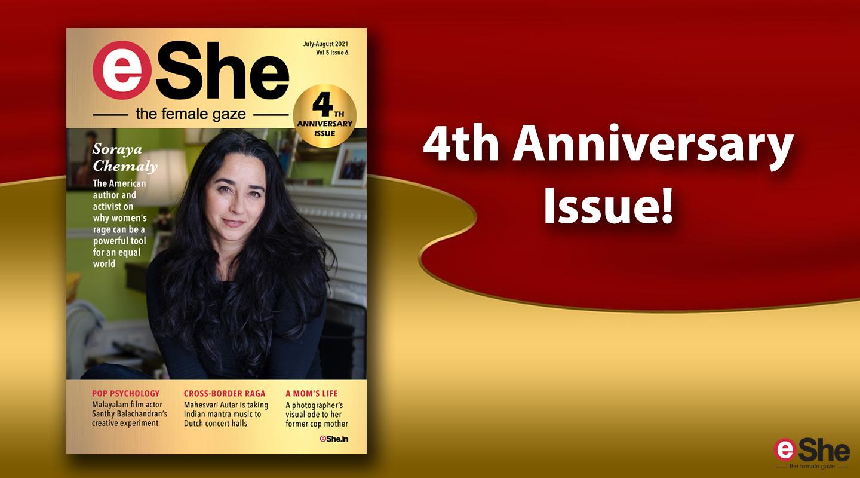 Read the 4th Anniversary Issue of eShe Magazine