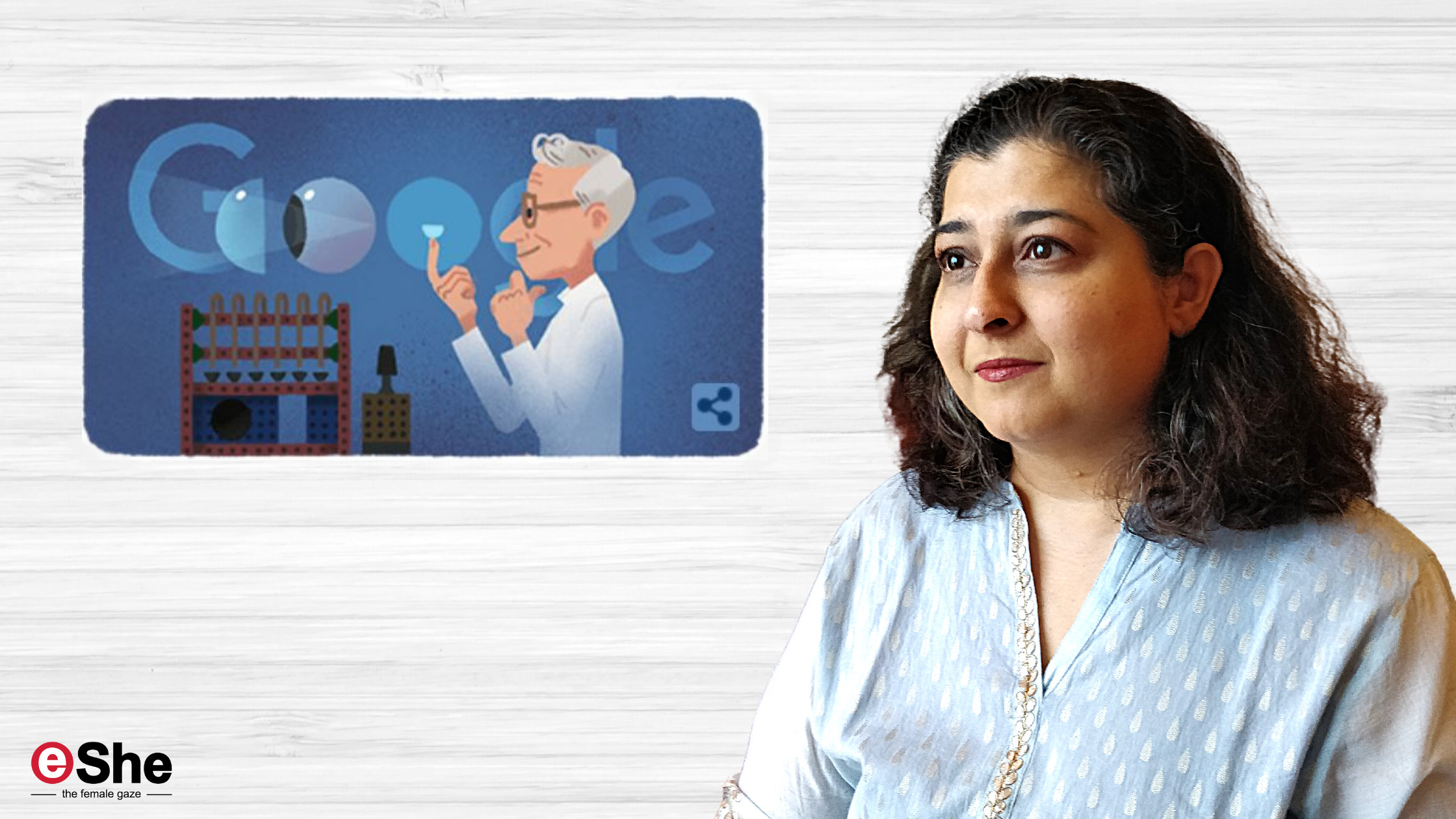 Dwelling on a Google doodle and coming to terms with vision loss