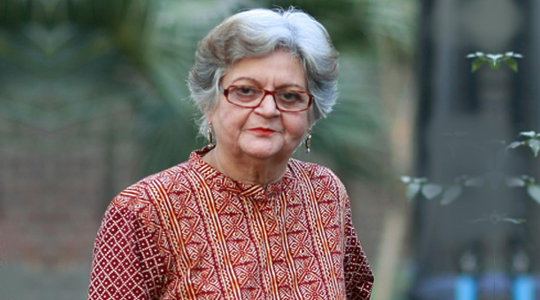 Salima Hashmi on art, activism and being the daughter of Faiz Ahmed Faiz